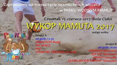 plakat Wykop Mamuta 2017