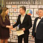 Michał Malitka - Najlepszy Asystent - Liga LZS - odbiera Tomasz Wielgosz