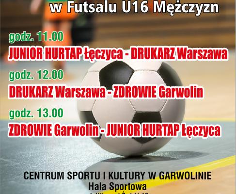 plakat MMP U16 Garwolin